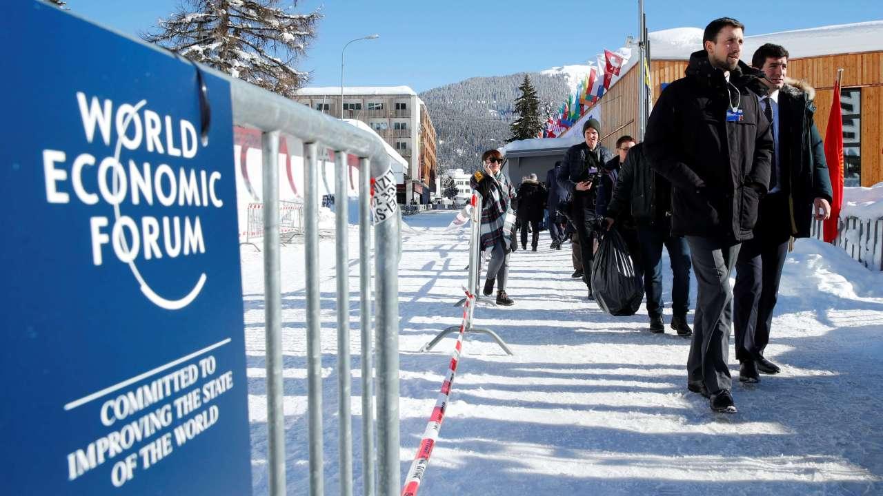 Davos, escenario del Foro Económico mundial, 23 al 26 de enero