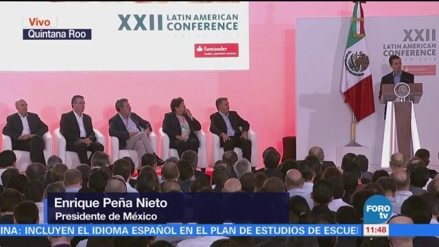EPN destaca estabilidad macroeconómica de México