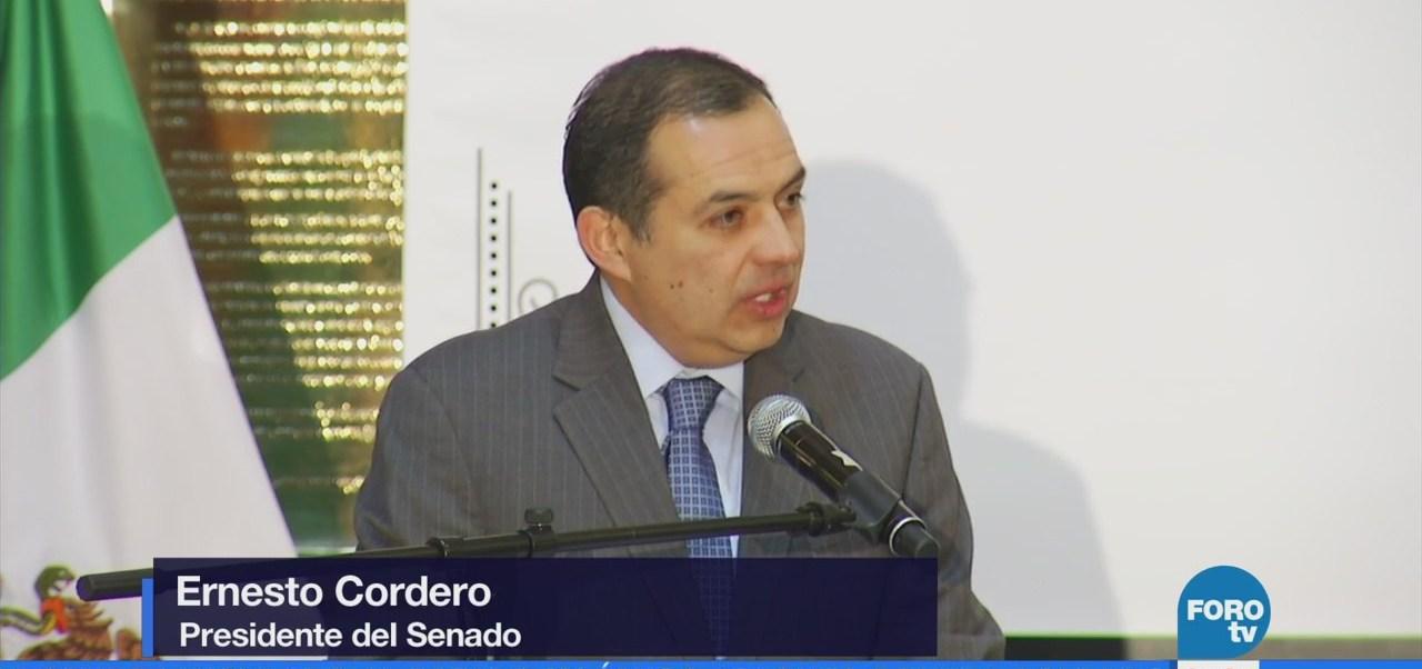 Ernesto Cordero elogia a las instituciones electorales