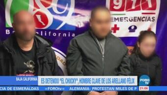 """Es detenido """"El Chucky"""", hombre clave de los Arellano Félix"""