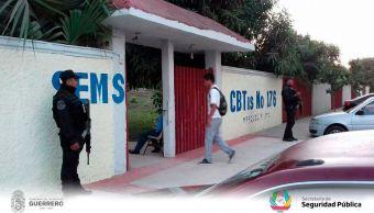 Activan operativo 'Escuela Segura' en Guerrero