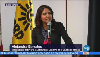 Estudio de opinión favorece a Alejandra Barrales
