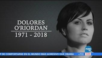 Fallece Dolores O'riordan Vocalista Grupo The Cranberries