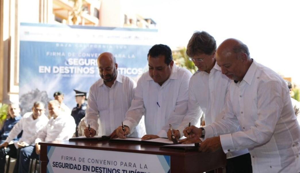 firman convenio de seguridad para destinos turisticos