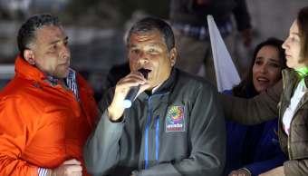 Fiscalia Ecuador cita declarar expresidente Correa
