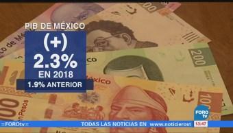 Fondo Monetario Internacional prevé que México crezca 2.3% en 2018