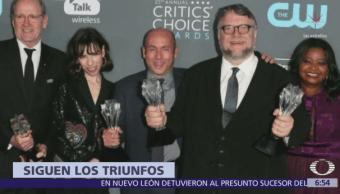 'La Forma del Agua' se lleva cuatro galardones en los Critic's Choice Awards