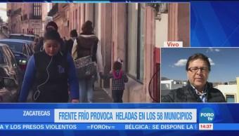 Frente Frío 23 Provoca Heladas Zacatecas