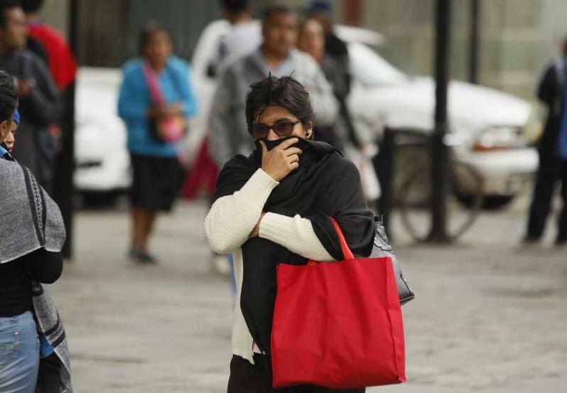 Frente frío 22 provoca temperaturas congelantes en gran parte del país