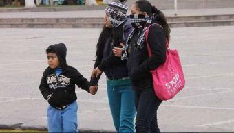 Piden reforzar precauciones en Sonora por bajas temperaturas