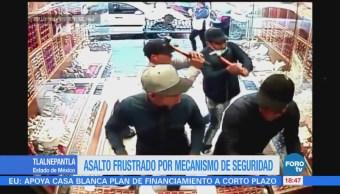 Detienen a tres por intento de robo a una joyería en Tlalnepantla