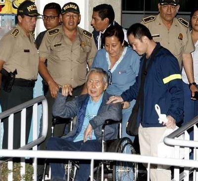 Hospitalizan al expresidente peruano Alberto Fujimori