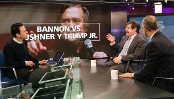 Steve Bannon se dejó querer por los medios