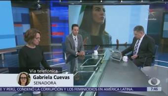 Gabriela Cuevas lamenta respuesta del PAN a su renuncia