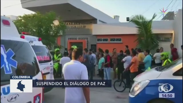 Gobierno de Colombia congela diálogo con ELN
