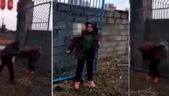 Golpiza-china-mujer