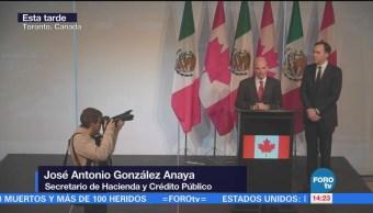 González Anaya reitera que México no pagará muro de TrumpGonzález Anaya reitera que México no pagará muro de Trump