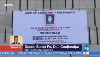 Habitantes de Santa Fe denuncian aumentos de asaltos a peatones