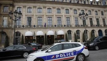 Hallan joyas robadas hotel Ritz París