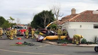 Tres muertos accidente helicóptero cerca Los Ángeles