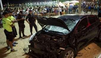 Sufrió ataque epiléptico el conductor que atropelló a 17 personas en Brasil
