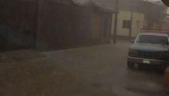 se registra tormenta granizo centro guerrero
