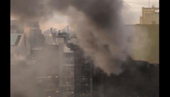 Incendio en la Torre Trump de Nueva York. (Reuters)