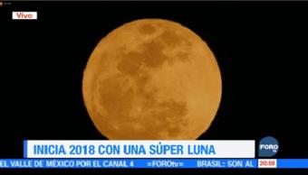 Inicia 2018 Súper Luna Calendario Astronómico