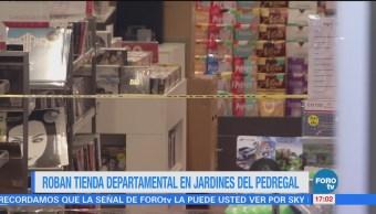 Delincuentes Asaltan Tienda Departamental Plaza San Jerónimo