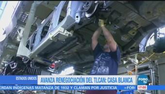 Eu Asistirá Sexta Renegociación Tlcan Portavoz