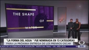 'La forma del Agua', nominada a 13 premios Oscar