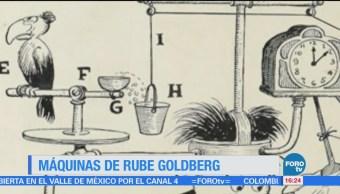 Historia Máquinas Rube Goldberg