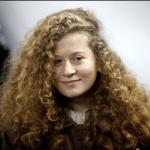 La joven palestina Ahed Tamimi. (EFE)