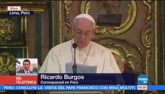 La visita del papa Francisco en Perú
