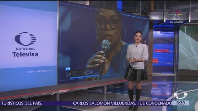 Las noticias, con Danielle Dithurbide: Programa del 26 de enero del 2018