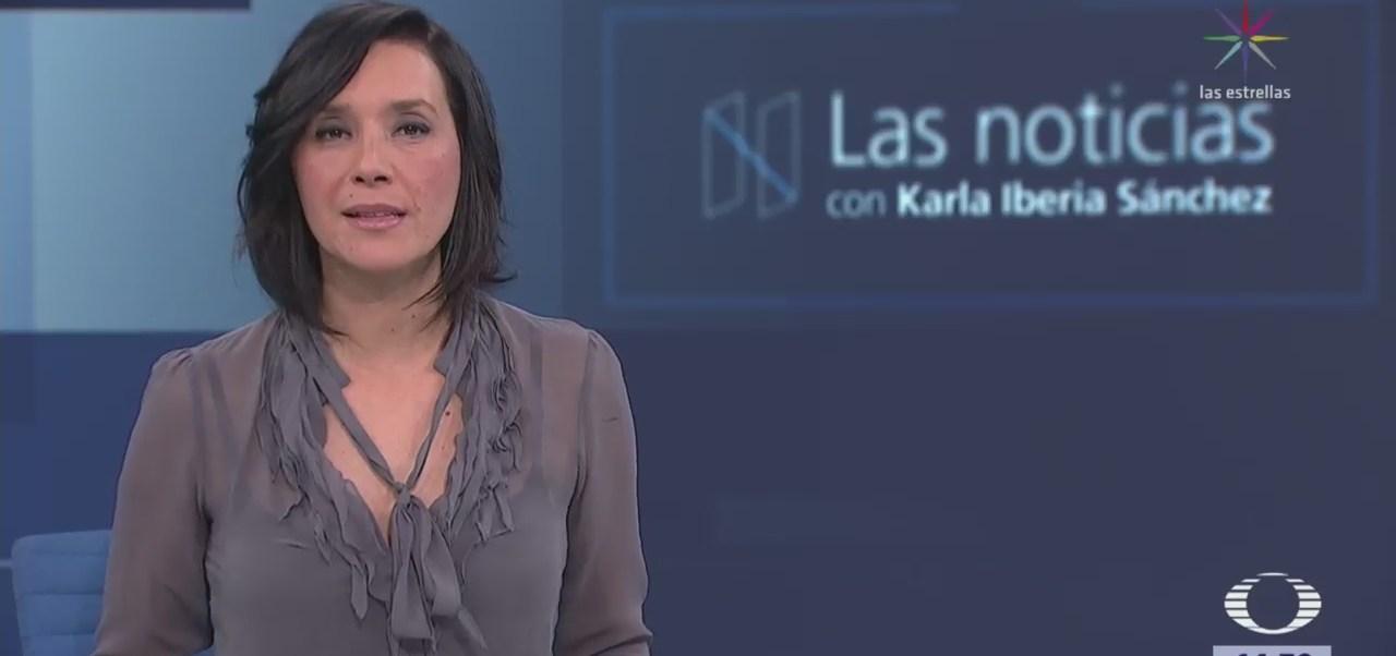 Las Noticias, con Karla Iberia: Programa del 18 de enero de 2018