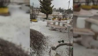 cae la primera nevada en la rumorosa baja california