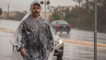 Frente frío 25 provoca bajas temperaturas y lluvias en Península de Yucatán