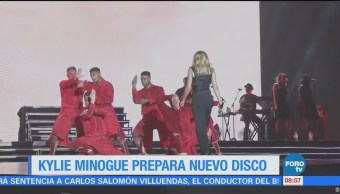 #LoEspectaculardeME: Kylie Minogue prepara nuevo disco