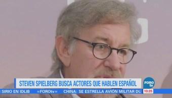 #LoEspectaculardeME: Steven Spielberg busca actores que hablen español