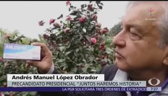 López Obrador le pide a Peña Nieto que se serene