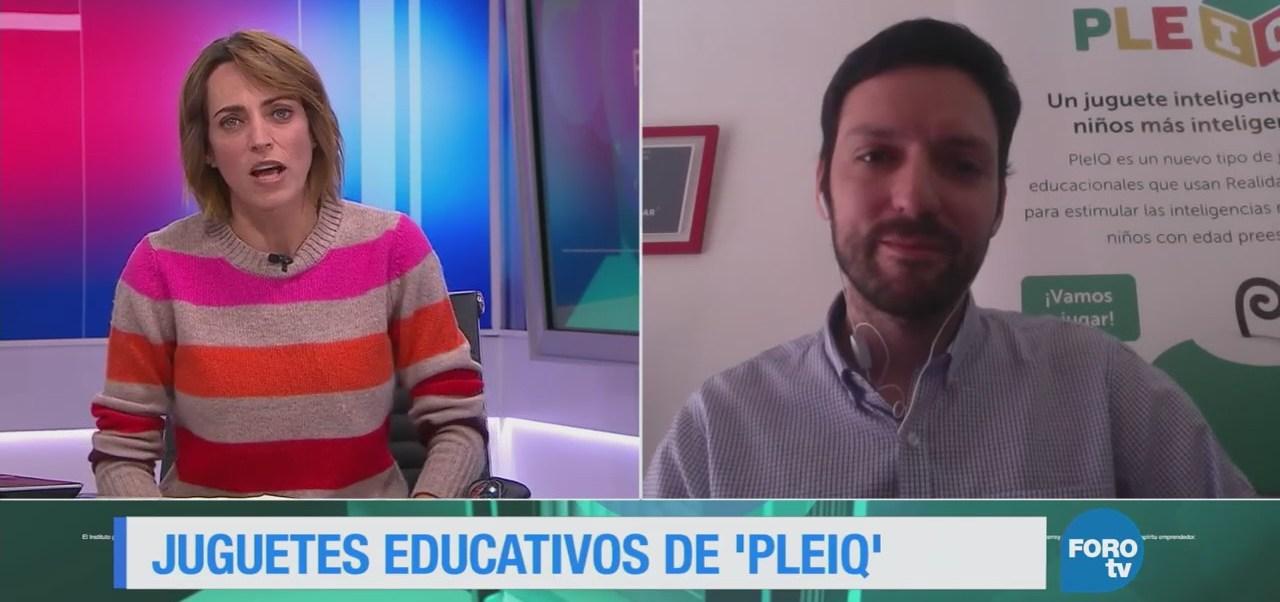 Los juguetes educativos 'PleiQ'