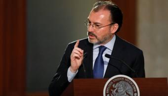 Luis Videgaray Caso, secretario de Relaciones Exteriores de México. Reuters Archivo