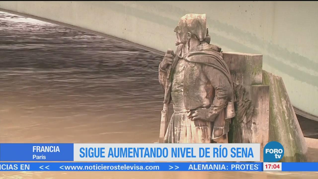 Mantienen Alerta Francia Posible Desbordamiento Río Sena
