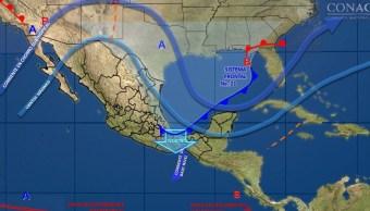 Nuevo sistema frontal provocará frío intenso y vientos fuertes en Sonora y BC