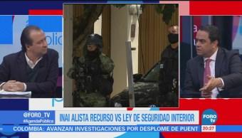 Mario Campos entrevista a Francisco Javier Acuña, presidente del INAI