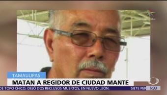 Matan a regidor panista en Ciudad Mante