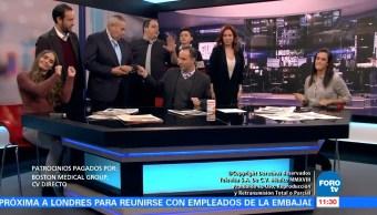 Matutino Express del 18 de enero con Esteban Arce (Parte 2)