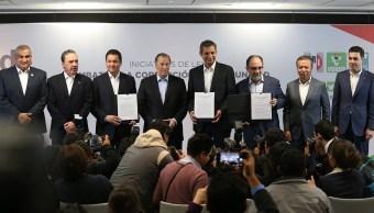 Meade presenta iniciativas contra la corrupción e impunidad
