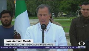 Meade propone aplicar pena máxima a funcionarios corruptos